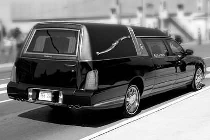 A Hearse On the Highway