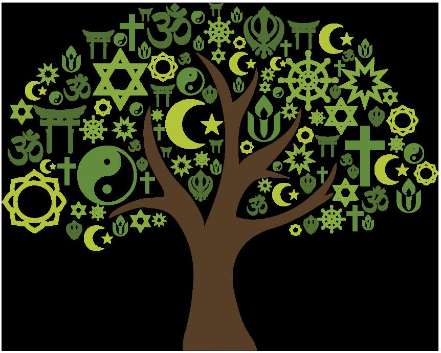 multi-faith tree - green - 862x691